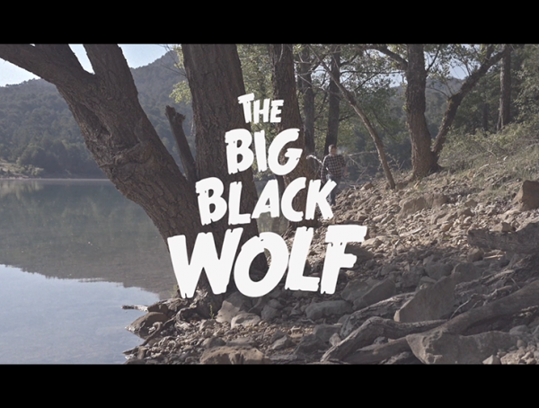 The Big Black Wolf